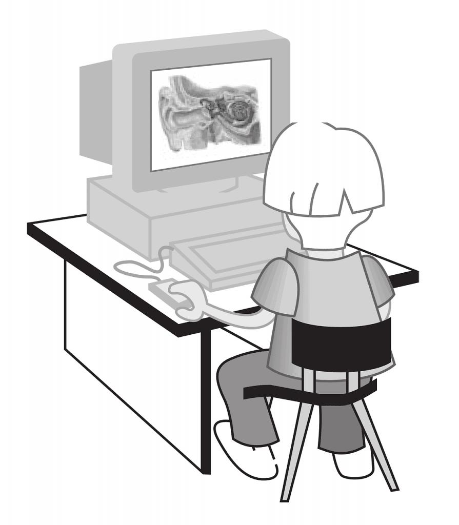 ילד עושה אבחון